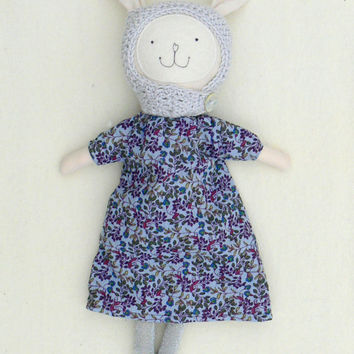 Handmade Dress Up Bunny Doll Rag Doll Cloth Doll