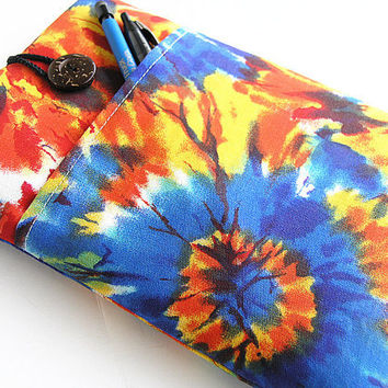 Kindle Sleeve, Kindle fire sleeve cover, Nook cover, Google nexus 7 case-Tiedye