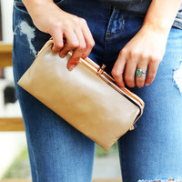 Blush Hobo Wallet