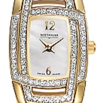 Wittnauer Krystal Collection Women's Bracelet Watch 12L030