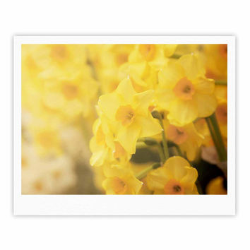 "Angie Turner ""Dreamy Daffodils"" Yellow Nature Fine Art Gallery Print"