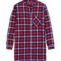 H&M - Shirt Dress - Red - Ladies