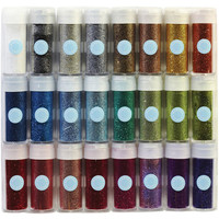 Martha Stewart Essentials Glitter Set .37 Ounce 24/Pkg- at Joann.com