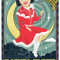 Love for Patsy Cline- Print of illustration