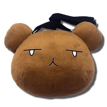 "Ouran High School Host Club Bear Head 9"" Plush Crossbody Bag"