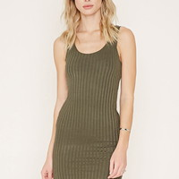 Ribbed Knit Bodycon Dress | Forever 21 - 2000160280