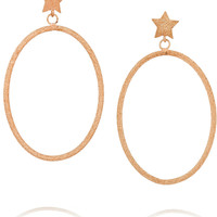 Carolina Bucci - Shooting Star 18-karat rose gold earrings