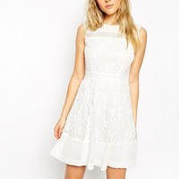 ASOS Premium Mini Dress in Lace