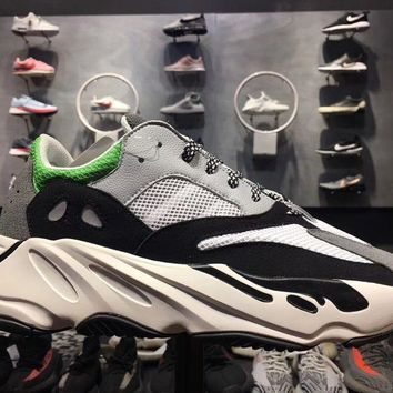 Yeezy Wave Runner 700 Boost Calabasas Color White Green