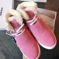 Adidas Women Casual Flats Shoes Boots