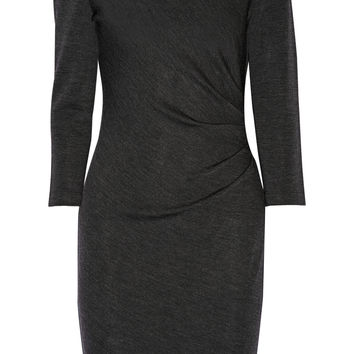 Diane von Furstenberg - Emmie gathered wool-jersey dress