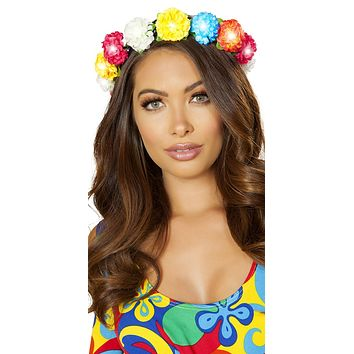 Sexy Multi-Color Floral Light-Up Headband