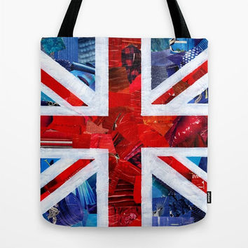 Union Jack Tote Bag, British flag Bag, Canvas Tote Bag Womens Totes, Shopping Tote Beach tote shopping bag, womens bag, british flag art