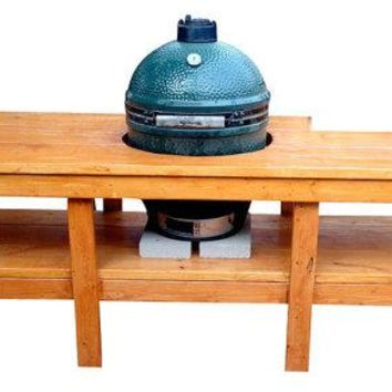 Big Man's Green Egg Table
