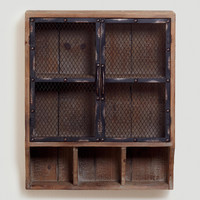 Colton Metal & Wood Wall Unit - World Market