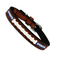 GameWear NFL Football Leather Dog Collar — Dallas Cowboys