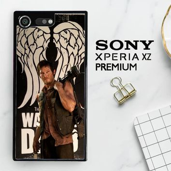 The Walking Dead Daryl Dixon Wings Z2791 Sony Xperia XZ Premium Case