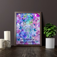 Dreamer Quote Wall Art Print