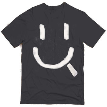 Chalk Smile Graphic Tee (mj-os-NL3600-chalksmile-wht)