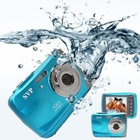 SVP Waterproof ACQUA WP6800 ( Blue ) UnderWater Digital Camera Video recorder 18MP Max.