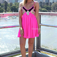 LINCOLN 2.0 DRESS , DRESSES, TOPS, BOTTOMS, JACKETS & JUMPERS, ACCESSORIES, 50% OFF SALE, PRE ORDER, NEW ARRIVALS, PLAYSUIT, COLOUR, GIFT VOUCHER,,Pink,Sequin,SLEEVELESS,MINI Australia, Queensland, Brisbane