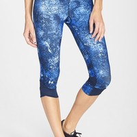 Women's Under Armour 'Fly By' Print Compression Capris
