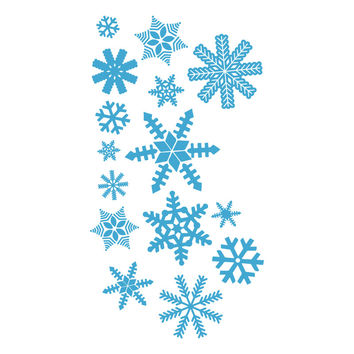 Ice Blue Snowflakes Small Collection SALE- 2 Sets For Price Of 1