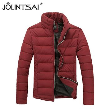 2015 New Korean Slim Fashion winter men jackets Warm Down Jacket Coats Man Outwear Padding Clothing AE-LN-528
