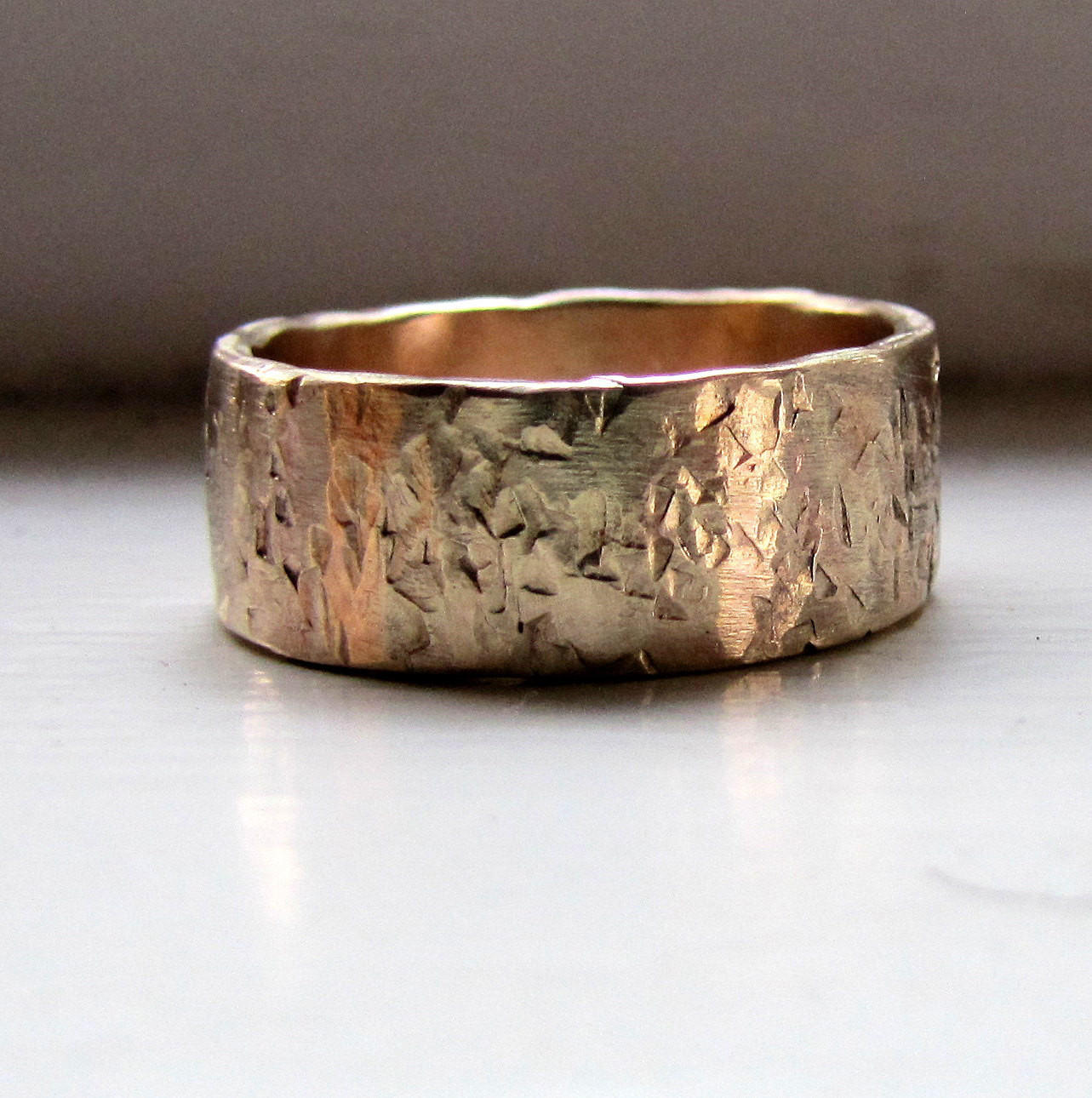 14k Gold Unique From Uniquehandmadeweddi