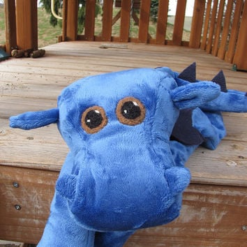 Dragon STUFFED ANIMAL Sewing Pattern - Digital Download