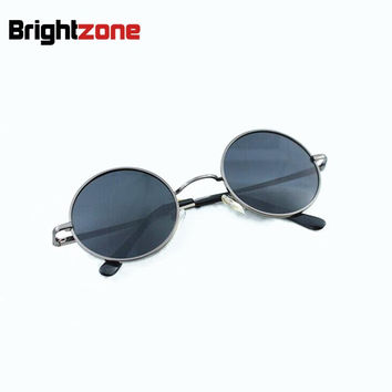 Retro & Vintage HARRY POTTER Metal Full Rim Total Round 100% Polarized UVA and UVB Protection Driving Sunglasses Sun Hider Glass