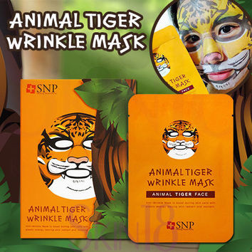 SNP Animal Tiger Wrinkle Mask   *exp.date 05/18*