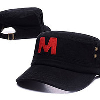DEBANG Markiplier Warfstache Game Logo Hat Embroidery Military Corps Army Cap