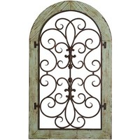 Verdigris Arch Wall Decor