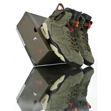 Travis Scott x Air Jordan 6 3M Sneaker Shoes