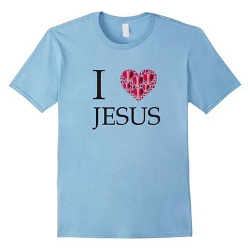I LOVE JESUS T-Shirt for Girls- Boys-Teens- Men & Women