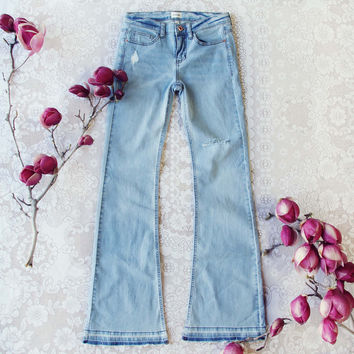 Faded Blues 70's Jeans