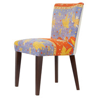 Kantha Side Chair, Violet/Gold, Side Chairs