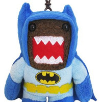 Domo Batman Clip On Plush, Blue