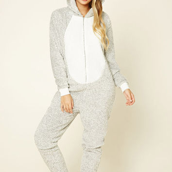 Penguin Plush PJ Jumpsuit