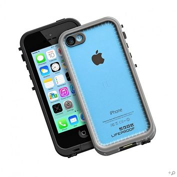 The Clear-Black LifeProof iPhone 5c frē Case