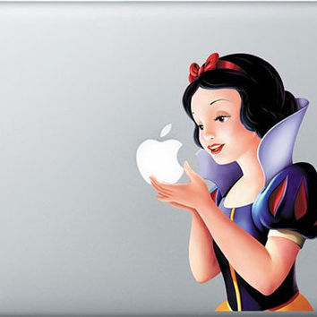 Snow White -- Mac Decal Mac Sticker Macbook Decals Macbook Stickers  Apple Vinyl Decal for Macbook Pro / Macbook Air / iPad