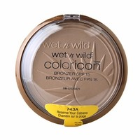 Wet n Wild Color Icon Collection Bronzer SPF 15, Reserve Your Cabana