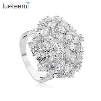 Luoteemi Trendy Non Copper Party Wedding Bands Women R-2015043003