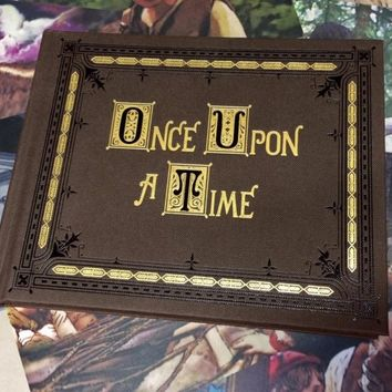 Once Upon a Time MINI Story book replica