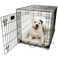 Midwest Life Stages Single Door Folding Dog Crate
