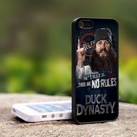Duck Dynasty Jase Robertson - For iPhone 4,4S Black Case Cover