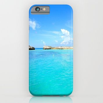 Aqua Water iPhone & iPod Case by WhimsyRomance&Fun