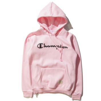 "Champion Fashion ""Adidas"" Hooded Top Sweater Pullover Sweatshirt"
