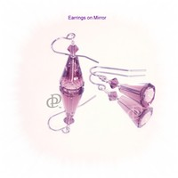 Swarovski Amethyst Artemis Earrings, Stainless Earwires
